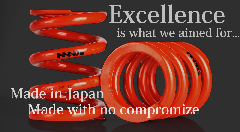 MAQs coli spring| Made in Japan, Made with no compromise